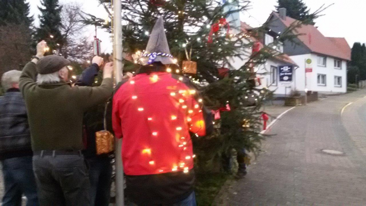 TuS Spork/Wendlinghausen - Weihnachtsbaum 2014